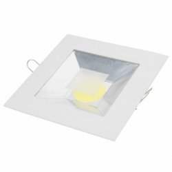 Downlight de LEDs Cuadrado COB 10W 800Lm