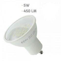 Lámpara LEDs EDM GU10 5W 450Lm