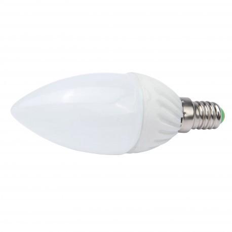 Bombilla de LEDs Cerámica E14 SMD5730 3W 240Lm