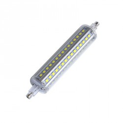 LEDs R7S 118mm 360º SMD2835 epistar 10W 1000Lm 50.000H