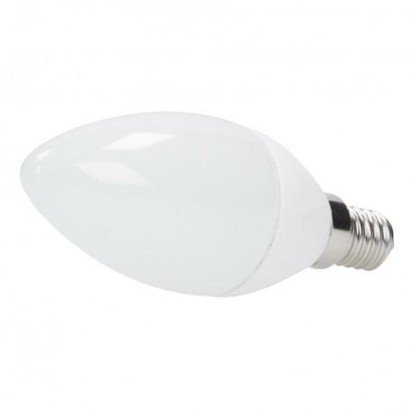 Bombilla de LEDs Cerámica Vela E14 5W 400Lm