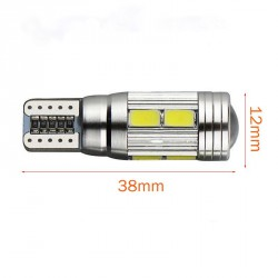 LED BASE T10 1 X ALTA LUMINOSIDAD 2,5W CANBUS