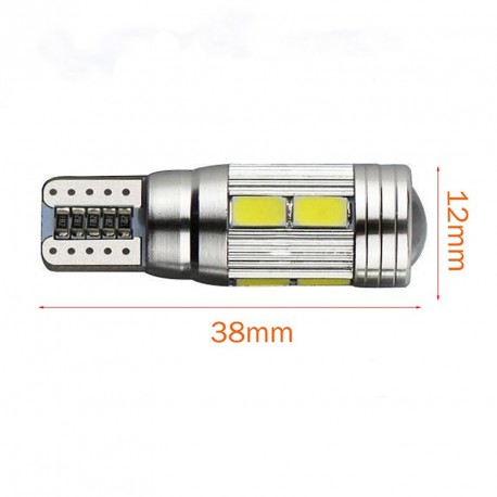 LED BASE T10 1 X ALTA LUMINOSIDAD 2,5W