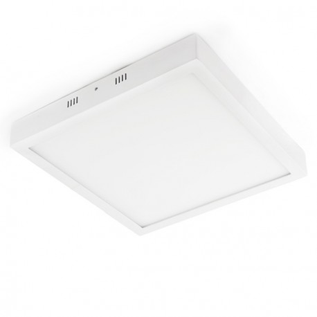 Downlight LED Cuadrado de superficie 220x220mm 18W 1450Lm