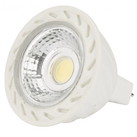 Lámpara de LEDs MR16 COB 6W 430Lm