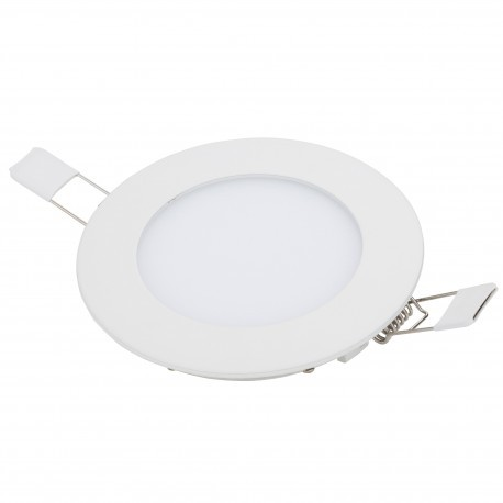 Downlight LEDs Circular ECOLINE 120mm 6W 400Lm