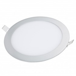 Downlight LED Circular gris plata 225mm 18W 1400Lm
