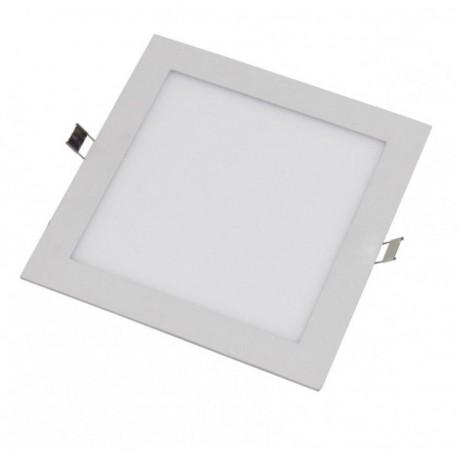 Downlight LEDs Cuadrada 220mm 18W 1380Lm