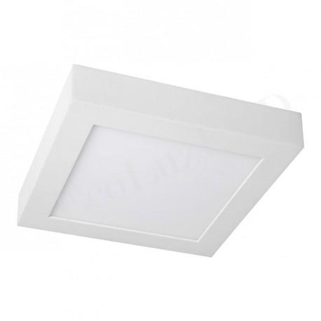 Downlight LEDs Cuadrado de superficie 220x220mm 18W 1450Lm