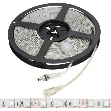 Tira de 72w 5 metros LEDs SMD5050 12VDC IP65