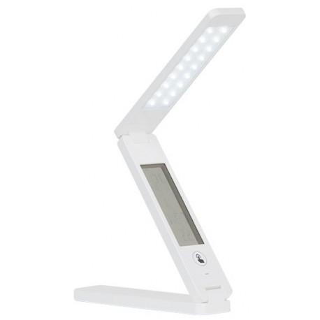 Flexo LED reloj ,alarma y usb icorporado